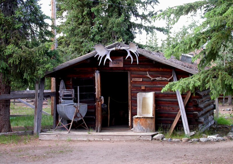 Trapper's Cabin Museum at Moose Creek Lodge - Photo #1